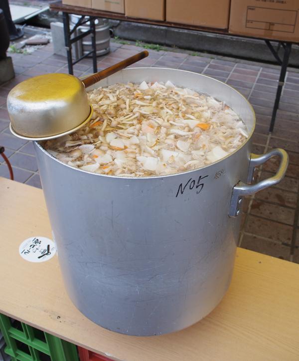蔵祭(豚汁)
