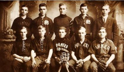 Parker SD Pheasants baseball team - 1911