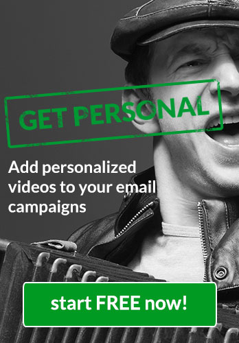 Add personalized videos to your email campaigns
