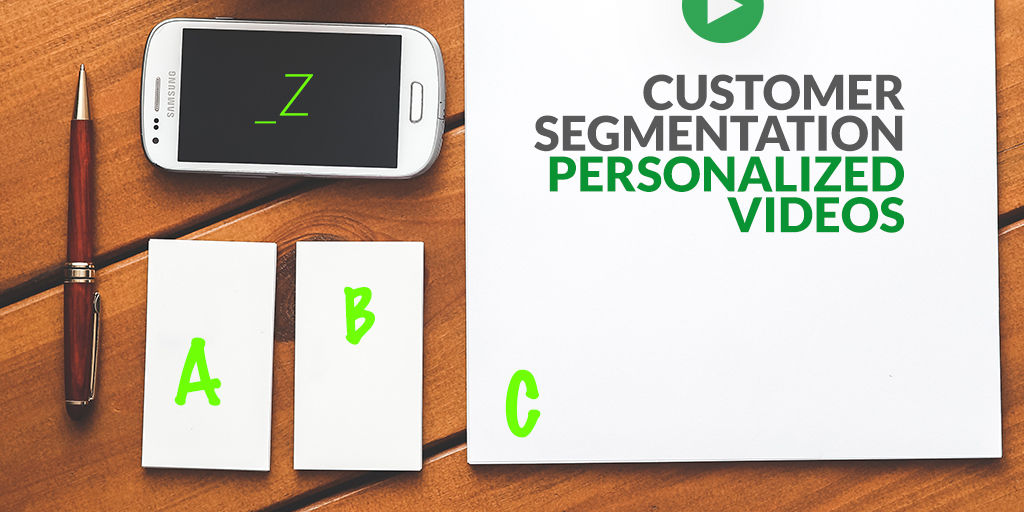 Customer segmentation empowers personalized videos