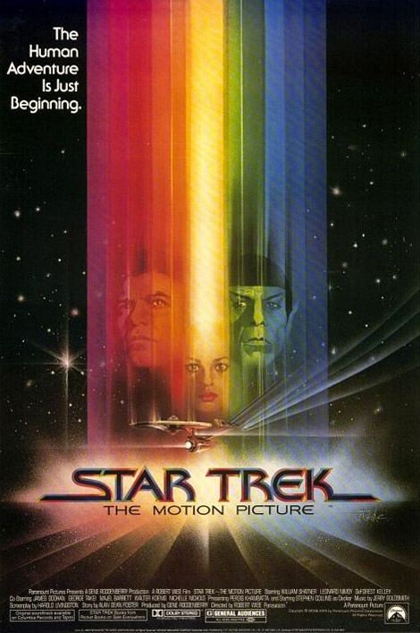 Star Trek: The Motion Picture - 1979: I'm not the biggest Star Trek fan out there but some of the artwork for the earlier films are stunning. Unfortunately they seemed to get cheesier and more made for TV as they went on.