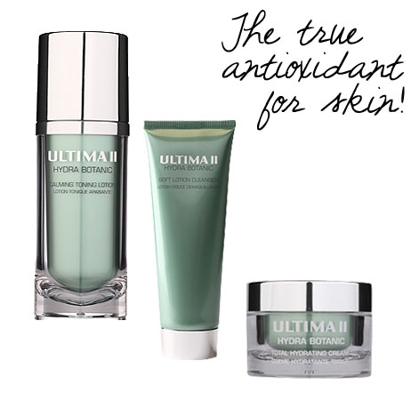 Ultima II Hydra Botanic series = The Real Antioxidant for Skin