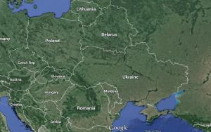 Ukraine: kind of a big place.