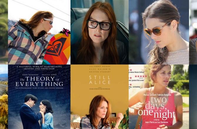 Eyewear of the Oscar Actresses