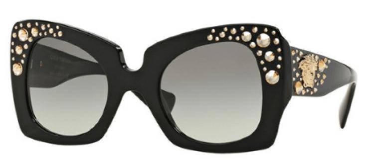 Versace Crystal Charm Sunglasses