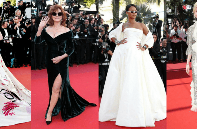 Red Carpet Styles at Cannes Film Festival 2017