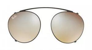 Ray Ban clip on sunglasses polarized