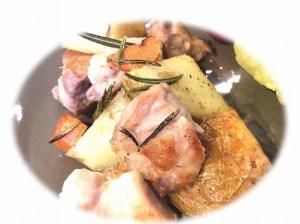 鶏肉とポテトのローズマリーソテー