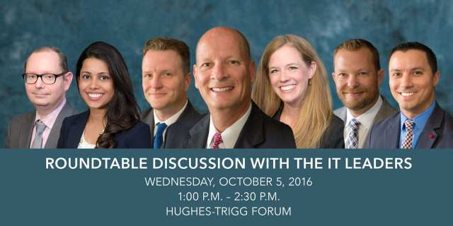 Roundtable Discussion with the IT Leaders