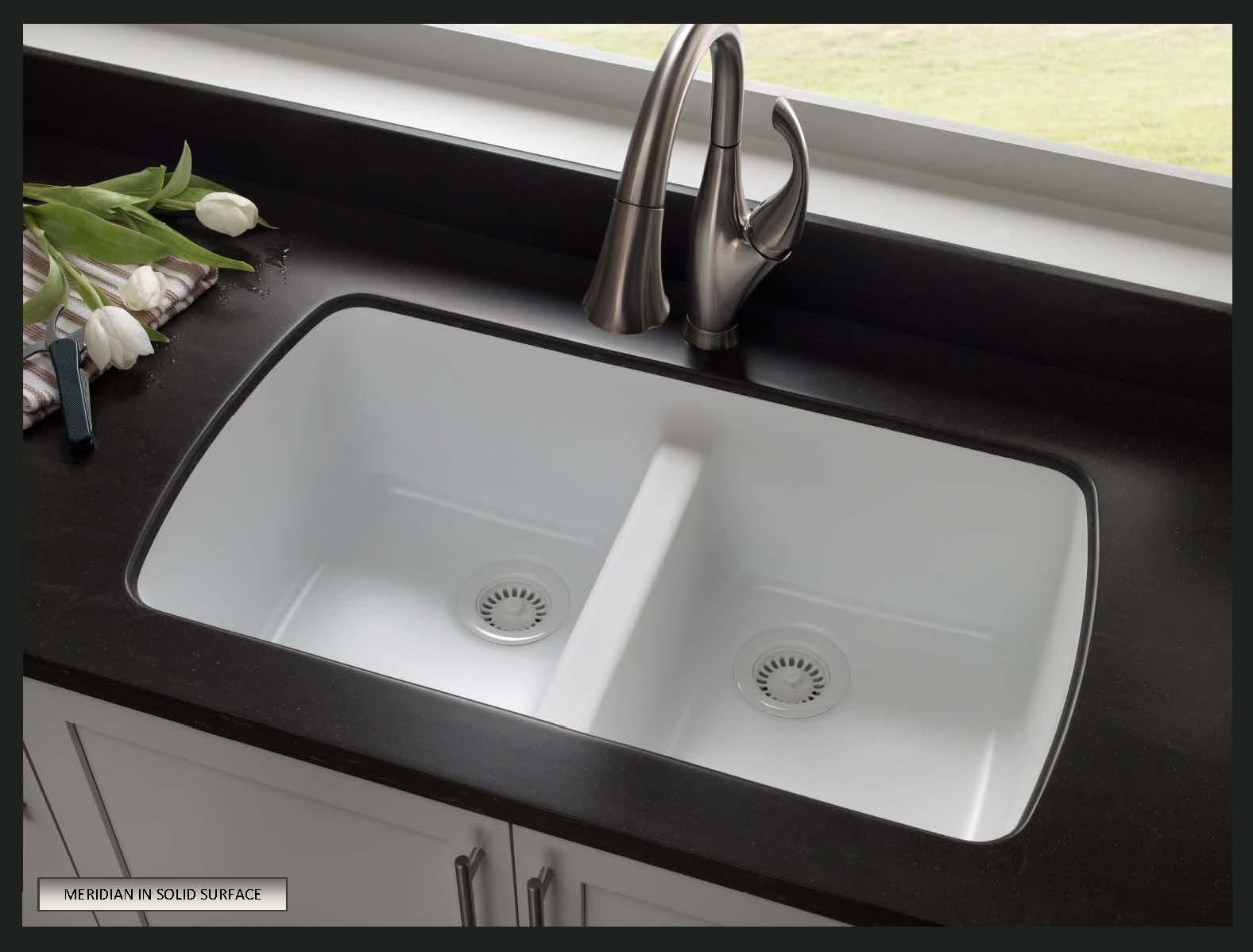 choose sink solid surface countertops corian kitchen countertops Karran Seamless Undermount Solid Surface