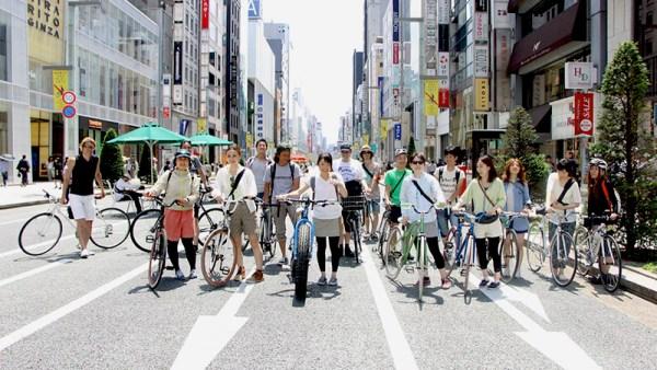 東京は自転車が楽しい!
