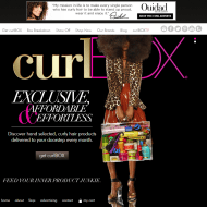 curlbox homepage