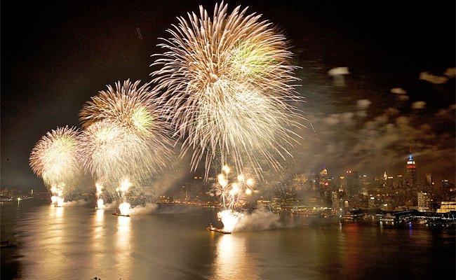 NYC fireworks