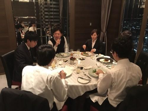 2018年度 内定式 会食編_37
