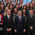 Close-up Group Photo - USAC Students & Staff with the Basque Government Representives