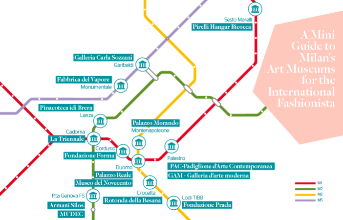 Milan's Art Museums Map - Stylight