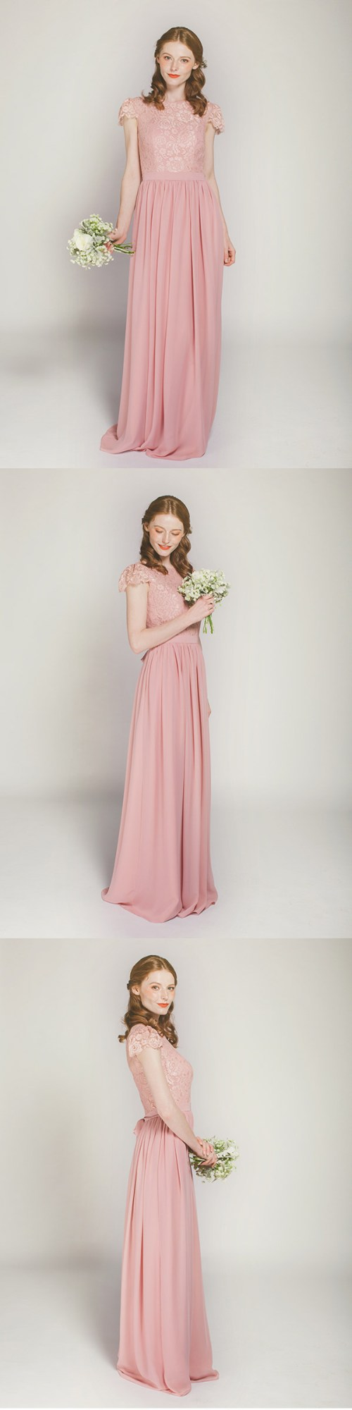 Medium Of Dusty Rose Bridesmaid Dresses