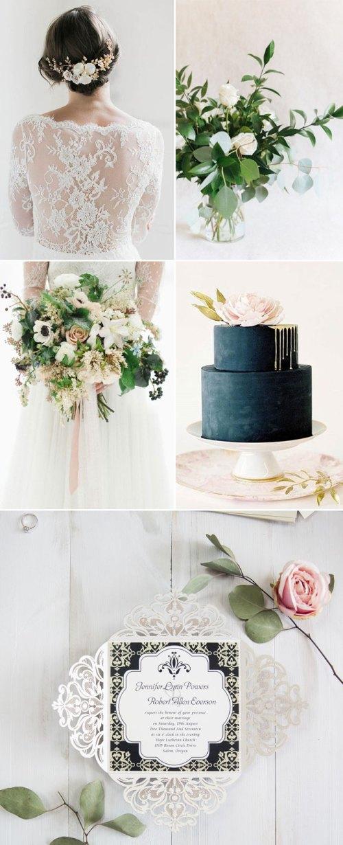 Medium Of Winter Wedding Colors