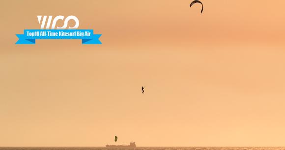 top10 kitesurf mega jump