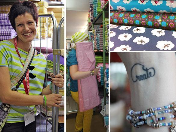 Swafing Hausmesse: Besucher im Stoffrausch