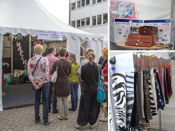 Kollektionszelt Swafing Hausmesse