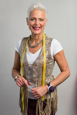 Kandidatin Ines Maier