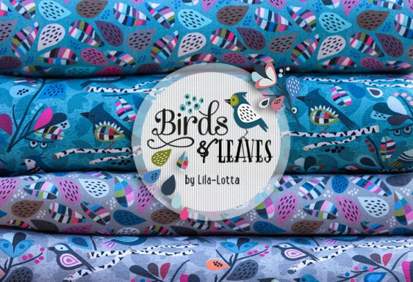 Birds & Leaves Sweats von Lila-Lotta