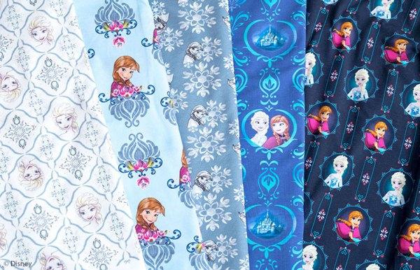 Disney Stoffe neu bei Swafing: Frozen - Die Eiskönigin