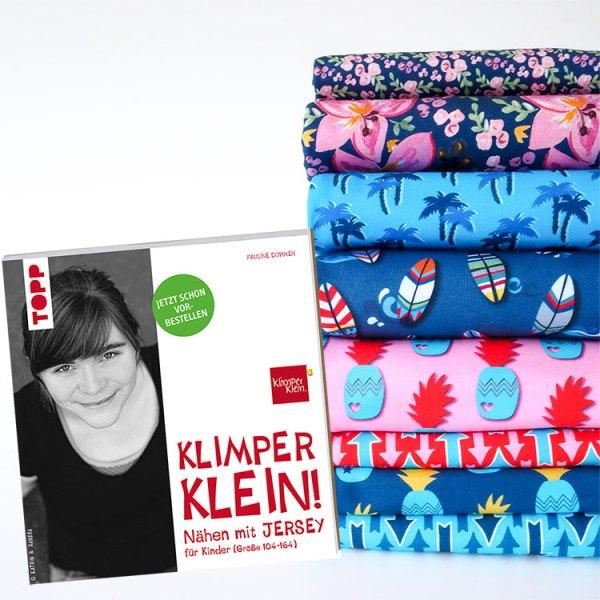 Klimperklein Buch Designerstoffe