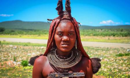 Himba woman in Kaokoland - jbdodane  -CC BY-NC 2.0