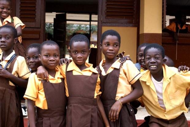 Students in Rural Ghana