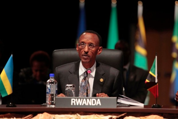 President Paul Kagame during Commonwealth Heads of Government Meeting (CHOGM) 2011