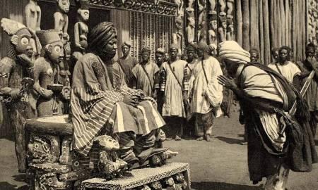 1930 King Njoya Bamum Kingdom Cameroon Africa_blog.swaliafrica.com