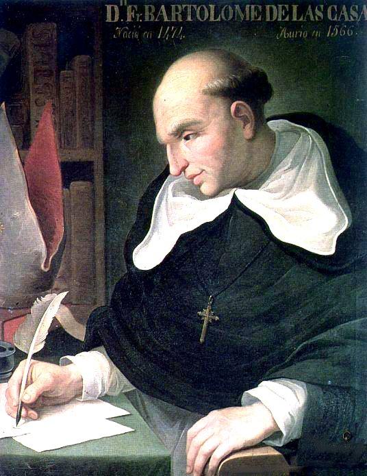 Portrait of Bartolomé de Las Casas