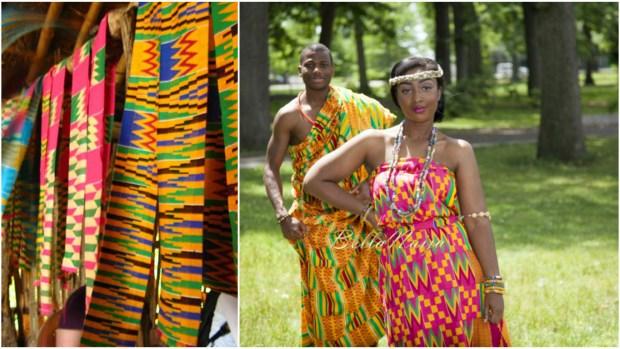 Kente African Fabric
