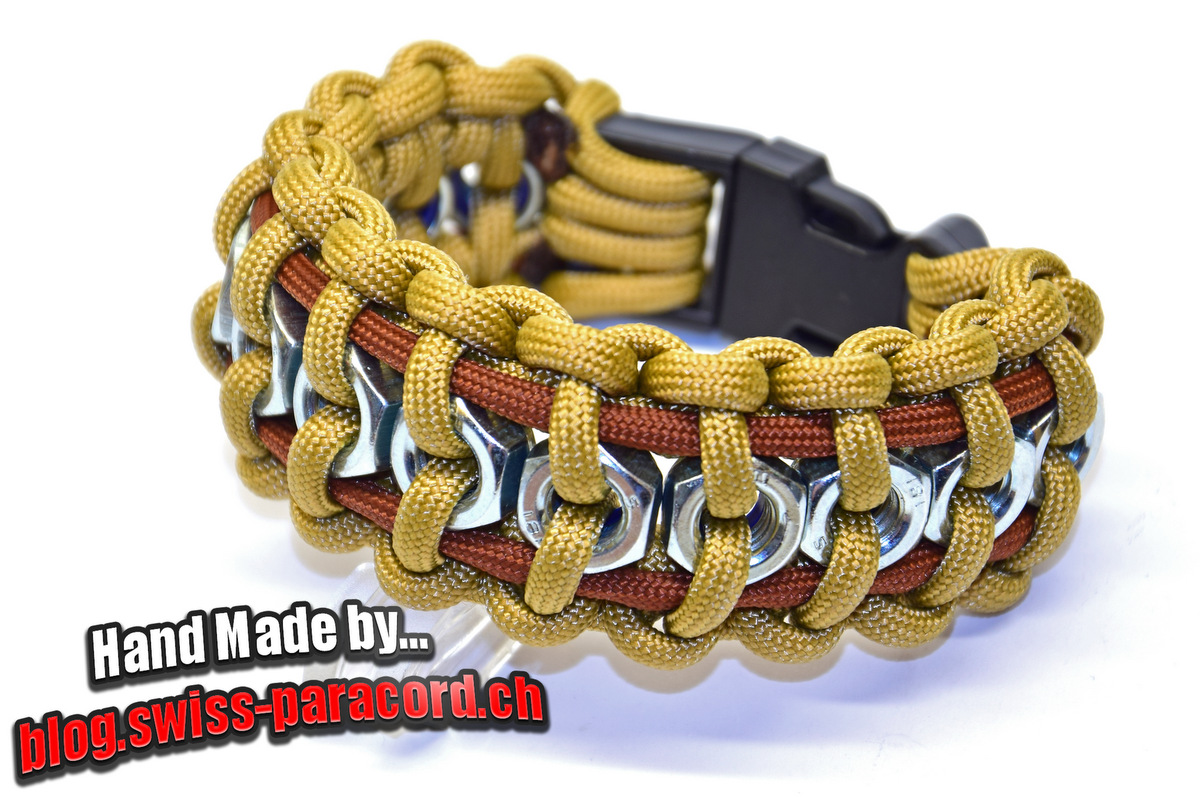 Swiss paracord for Paracord projects