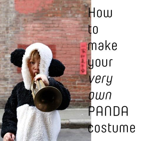 Panda Costume