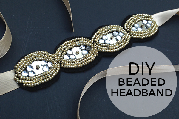 DIY Beaded Headband