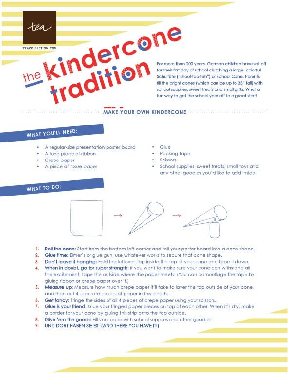 DIY KinderCone