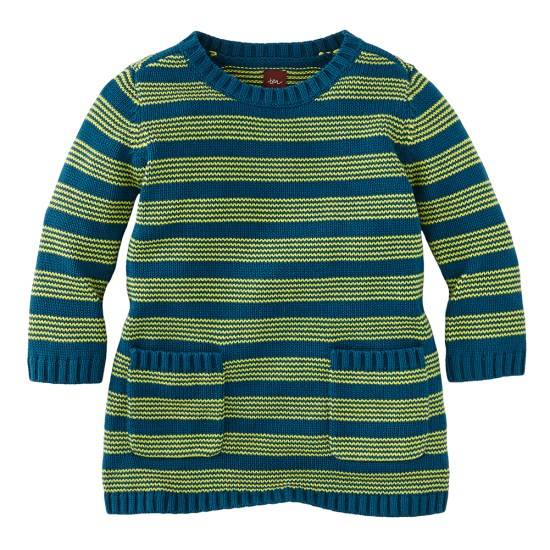 Marzella Stripe Sweater Tunic by Tea Collection