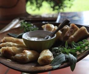 phyllo dough empanadas