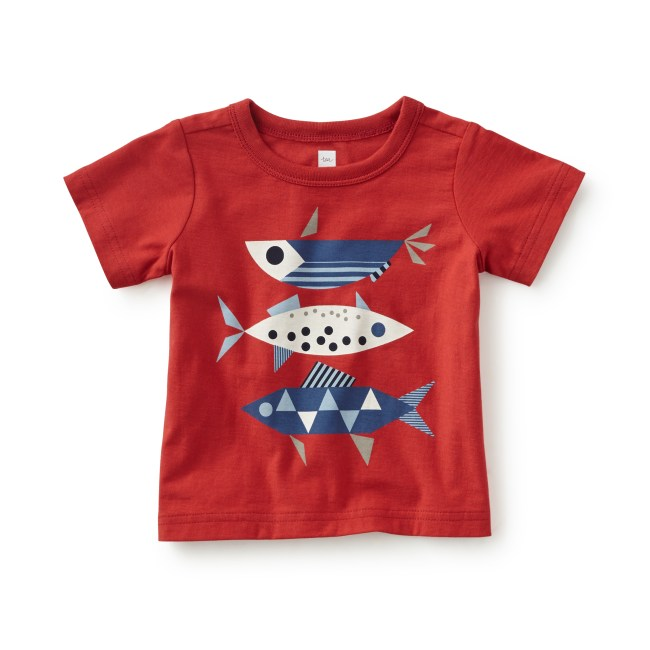 Fish Tails Graphic Tee
