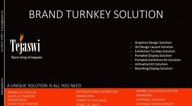 Tejaswi Brand Turnkey Solution Final
