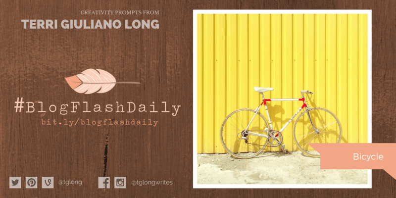 #BlogFlashDaily Creativity Prompt: BICYCLE