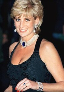 Princess Diana and her love of sapphires.