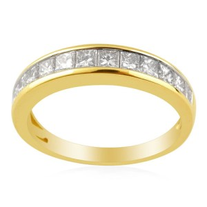ILIANA Diamond (1.05 Ct) 18K Y Gold Ring