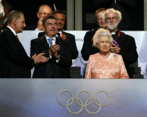 Queen At Olympic 2012 Opening Ceremony