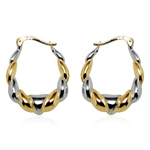 TREASURES OF ISTANBUL 9K YW Gold Earring