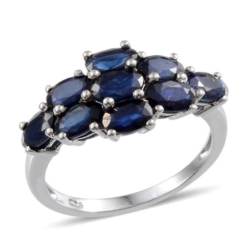 Sapphires look gorgeous with cooler skin tones