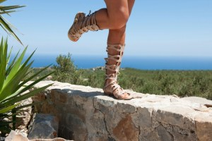 Gladiator sandals for your wellies this festival season